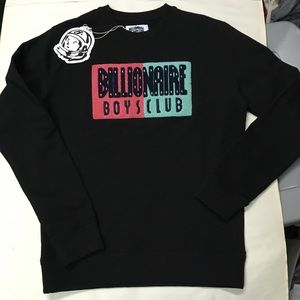 Black billionaire boys club crew neck sweatshirt